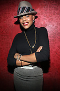 Dominque Andriese at The Jamie Foxx's Album Release Party for Intuition, Sponsored by Vibe Magazine & Patron Tequila held at Home on December 17, 2008 in New York City..