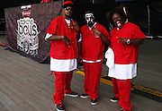 TECH N9NE at The 2009 Rock the Bells Concert presented by Guerilla Union in association with Budweiser and held at Jones Beach July 19, 2009 in Babylon, NY..Few events can claim to both capture and define a movement, yet this is precisely what Rock The Bells has done since its inception in 2003. Rock The Bells is more than a music festival. It has become a genuine rite of passage for thousands of core, social, conscious, and independent Hip Hop enthusiasts, and Hip Hop Heads Globally. ..Rock The Bells is the ultimate Hip Hop platform and premiere music experience in America. Rock The Bells has established a forum of unparalleled diversity and excellence by uniting the biggest names involved with urban culture.