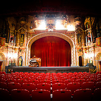 TAMPA, FL -- July 2012 -- The Tampa Theater, originally opened in 1926, is seen in it's restored formed in downtown Tampa.  (PHOTO /CHIP LITHERLAND)