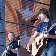 September 7, 2003; Aaron Brotherton performing at Farm Aid, 2003, in Columbus, Ohio. Photo by Bryan Rinnert/3Sight Photography