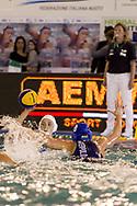 3 Arianna GARIBOTTI ITA<br /> ITA v HUN Italy (white cap) versus Hungary (blue cap)<br /> FINA Women Water Polo World League qualification round<br /> Avezzano (AQ) Italy ITA Piscina Comunale Avezzano <br /> Centro Italia Nuoto  Unipol<br /> April 18th, 2017 <br /> Photo &copy;G.Scala/Deepbluemedia/Insidefoto