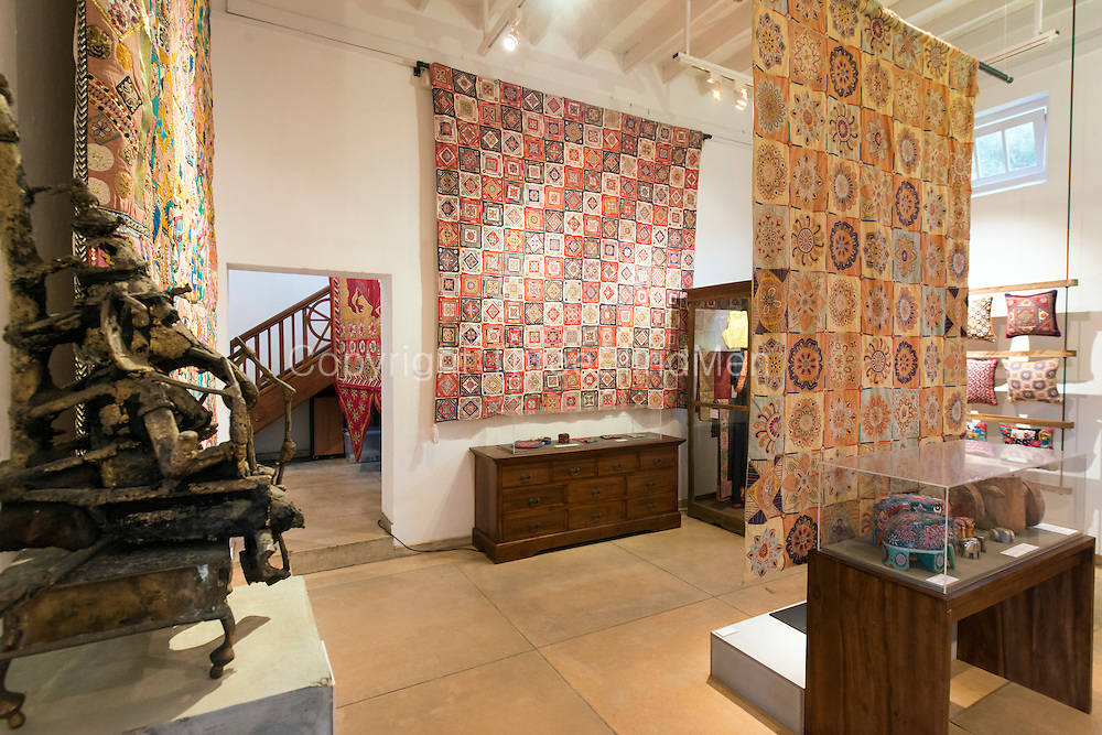 BAREFOOT GALLERY -ENA DE SILVA EXHIBTION. <br /> Wax Thread &amp; Colour. Ena de Silva and the Matale Heritage Centre.<br /> Tuesday 18th October. Exhibition by the Geoffrey Bawa Trust