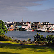 Stornoway harbour, Isle of Lewis, outer Hebrides.