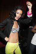 """Jasalene Gonzalez at The YRB Magazine's """" How You Rock It 3 """" with a special performance by Busta Ryhmes and hosted by YRB held at M2 Lounge on May 19, 2009 in New York City."""