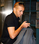Real Madrid leave for USA