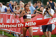 Falmouth Road Race: invitational mile, women's winner Brenda Martinez