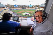 Jaime Jarrin, LA Dodgers broadcaster.