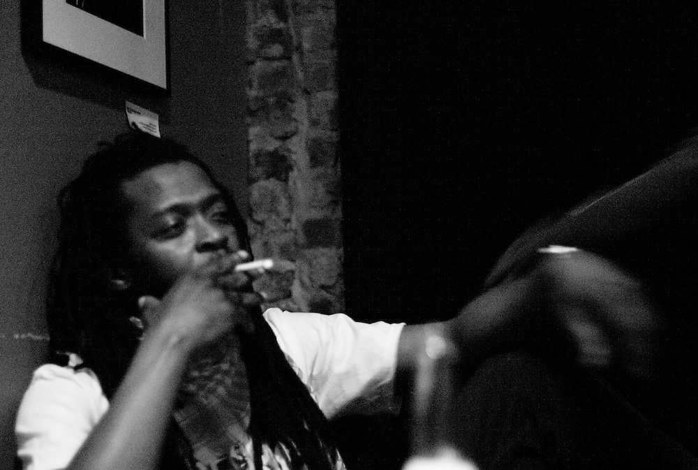 Jah Rootz, green room, 8x10 Club, Baltimore, MD