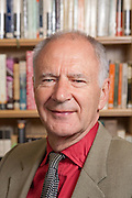 Dr Michael Allingham, Governor, Magdalen College School 2010, Photographed in the school library.