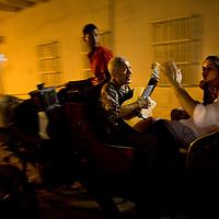 Horse-drawn carrage ride in Cartagena, Colombia ..Photo by Robert Caplin..