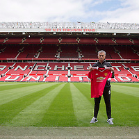 New Manchester United manager Jose Mourinho is unveiled at Old Trafford, Manchester on July 5th 2016