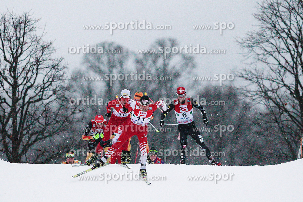 15.12.2012, Nordische Arena, Ramsau, AUT, FIS Nordische Kombination Weltcup, Gundersen, Cross Country, im Bild Stecher Mario (NOR) during Cross Country of FIS Nordic Combined World Cup, Gundersen at the Nordic Arena in Ramsau, Austria on 2012/12/15. EXPA Pictures © 2012, EXPA/ Federico Modica