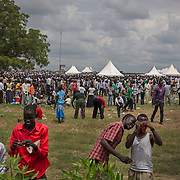 Thousands of South Sudanese came to celebrate the 2nd anniversary of the independence of South Sudan. <br /> <br /> As South Sudan is about to celebrate its second anniversary of its independence, the national kickboxing team organized its second international competition with kick boxer coming from the neighboring countries and Italy.