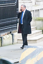 Downing Street, London, December 13th 2016. International Trade Secretary Liam Fox arrives at the weekly meeting of the cabinet at Downing Street, London.