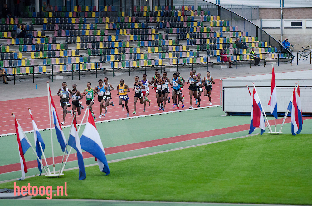 nederland,netherlands Hengelo 29 june 10K running 10.000 meters athletics Demelash (nr 5)  wins  news world leading time 26:51:11
