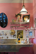 The Manhattan apartment of fashion designer Betsey Johnson.