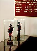Jawara figurines at the Fortune Resort, Port Blair