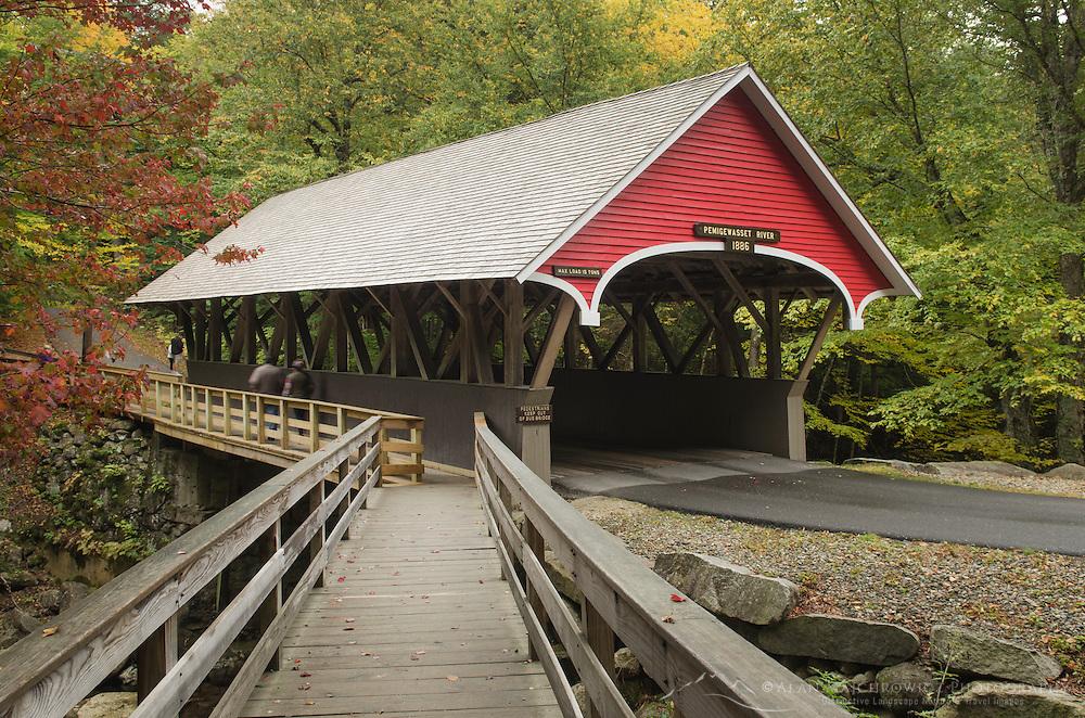 Flume Bridge, Franconia Notch New Hampshire