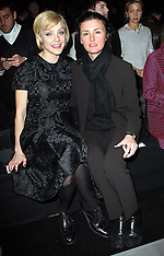 FEB 11 2013 Celebrities at Marc by Marc Jacobs show in New York