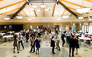 GU students danced with Spokane seniors at the Senior/Junior dance Nov. 6 hosted by the Knights of Columbus. (Photo by Edward Bell)