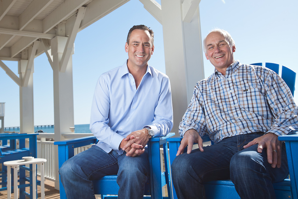 Ceo Of Lending Tree Doug Lebda And His Father Bob At Their Vacation Home In Wrightsville Beach