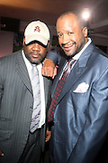 l to r: Maximillian Hamilton and Munson Steed at The Men of Style Awards presented by Gillette Fusion and Rolling Out Urbanstyle Weekly held at the 40/40 Club on Novemeber 2, 2009 in New York City