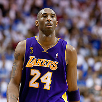 09 June 2009: Kobe Bryant of the Los Angeles Lakers is seen during game 3 of the 2009 NBA Finals won 108-104 by the Orlando Magic over the Los Angeles Lakers at Amway Arena, in Orlando, Florida, USA.