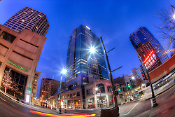12th and Main Street, downtown Kansas City, Missouri.