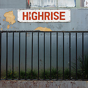 Highrise, a 19-storey apartment tower overlooking a park in Hillbrow, an inner-city neighbourhood in Johannesburg, South Africa, was one the exclusive domain of wealthy white South Africans during the apartheid era. Today, it has a reputation for being the residence of choice for drug dealers who operate in the park across the street.