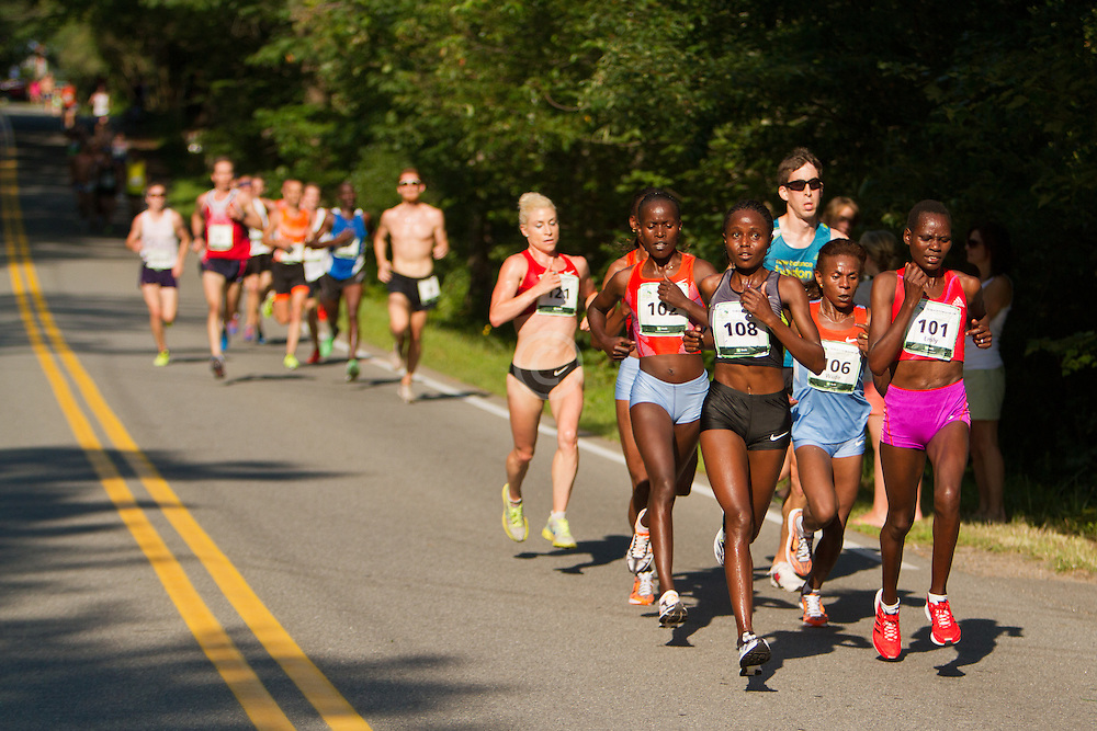 Beach to Beacon 10K , Margaret Wangaru, women's champion,