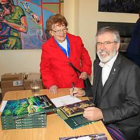 Gerry Adams book launch