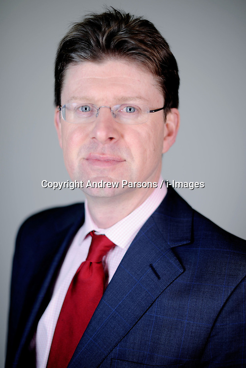 Portrait of Greg Clark MP for Tunbridge Wells, London, Tuesday January 12, 201, January 12, 2010. Photo By Andrew Parsons / i-Images.