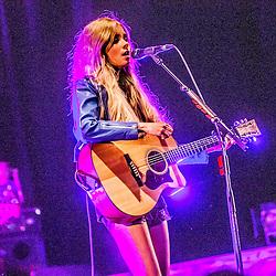 Nina Nesbitt on stage at the Usher Hall Lothian Rd, Edinburgh.