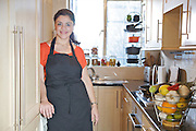 Sabrina Ghayour, author of the &quot;Persiana&quot; cookbook, in her London kitchen<br /> CREDIT: Vanessa Berberian for The Wall Street Journal<br /> IMK.OD