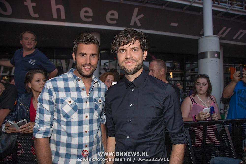 NLD/Amstelveen/20140610 - TROS Muziekfeest op het Plein 2014 Amstelveen, Nick en Simon