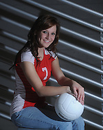 Lafayette High's Charlotte Rafnson is the Oxford Eagle's 2010 Player of the Year for volleyball, photographed in Oxford, Miss. on Thursday, November 11, 2010.