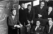 John F. Kennedy addresses both Houses of the Oireachtas (Irish Parliament) - 28/06/1963