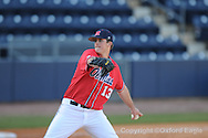 Mississippi's Drew Pomeranz struck out 15 in 7 innings vs. Oakland in Oxford, Miss. on Friday, February 26, 2010. Ole Miss won 9-1.