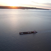 Continuous dredging near the Port of Anchorage