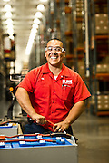Uline maintenance worker Joe in the company's Coppell, Texas facility.