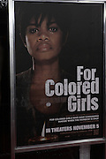 25 October 2010- New York, NY- Atmosphere at Tyler Perry's World Premiere of the Film 'For Colored Girls ' an Adaptation of Ntozake Shange's play ' For Colored Girls Who Have Considered Suicide When the Rainbow Is Enuf.' held at the Zeigfeld Theater on October 25, 2010 in New York City.