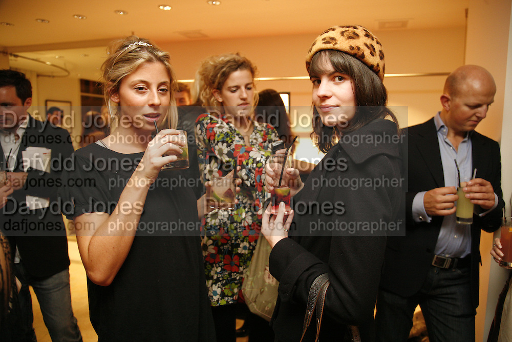 SOPHIA AKROYD, EMILY BIRD AND LAURA CATHCART, Maria Grachvogel 5th Anniversary of her  Sloane St store. 162 Sloane St. London. 19 October 2006. -DO NOT ARCHIVE-© Copyright Photograph by Dafydd Jones 66 Stockwell Park Rd. London SW9 0DA Tel 020 7733 0108 www.dafjones.com