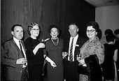 1966 - U.S. travel agents at airport and reception at the Intercontinental Hotel