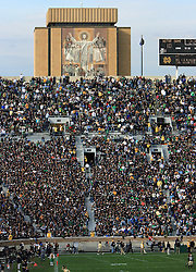 Notre Dame Stadium and Touchdown Jesus