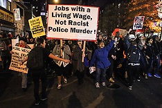 NOV 25 2014 Protests Continue In NYC After Ferguson Grand Jury Decision