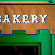 SHOT 10/23/2007 - La Boulange de Hayes bakery at Hayes and Octavia in the Hayes Valley neighborhood of San Francisco, Ca. Hayes Valley is a neighborhood in San Francisco, California, between the historical districts of Alamo Square and Civic Center. Victorian, Queen Anne, and Edwardian townhouses rub shoulders with hip boutiques, excellent restaurants, and public housing complexes. The City and County of San Francisco is the fourth most populous city in California and the fourteenth-most populous in the United States. San Francisco is a popular international tourist destination renowned for its steep rolling hills, an eclectic mix of Victorian and modern architecture, its large LGBT (lesbian, gay, bisexual, and transgender) population, and its chilly summer fog and mild winters. Famous landmarks include Union Square, Pacific Heights, Russian Hill, Fisherman's Wharf, North Beach and Chinatown..(Photo by Marc Piscotty © 2007)