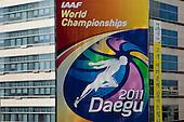 City of Daegu, South Korea - host of the 13th World Championships in Athletics 2011