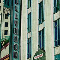 Hollywood History Museum Facade, Los Angeles, California