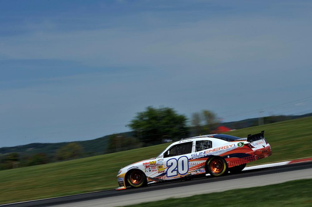 15-16 August, 2014, Lexington, Ohio USA<br /> Kenny Habul, SunEnergy1 Toyota Camry<br /> &copy;2014, Scott R LePage <br /> LAT Photo USA