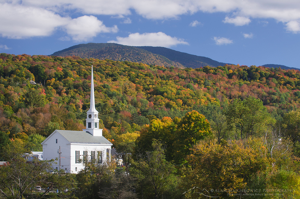 Stowe Vermont church
